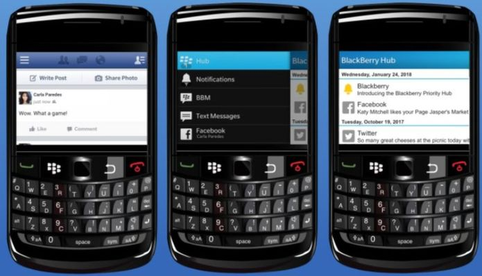 Facebook says that the integration partnerships allowed the BlackBerry Hub and other similar services to be possible