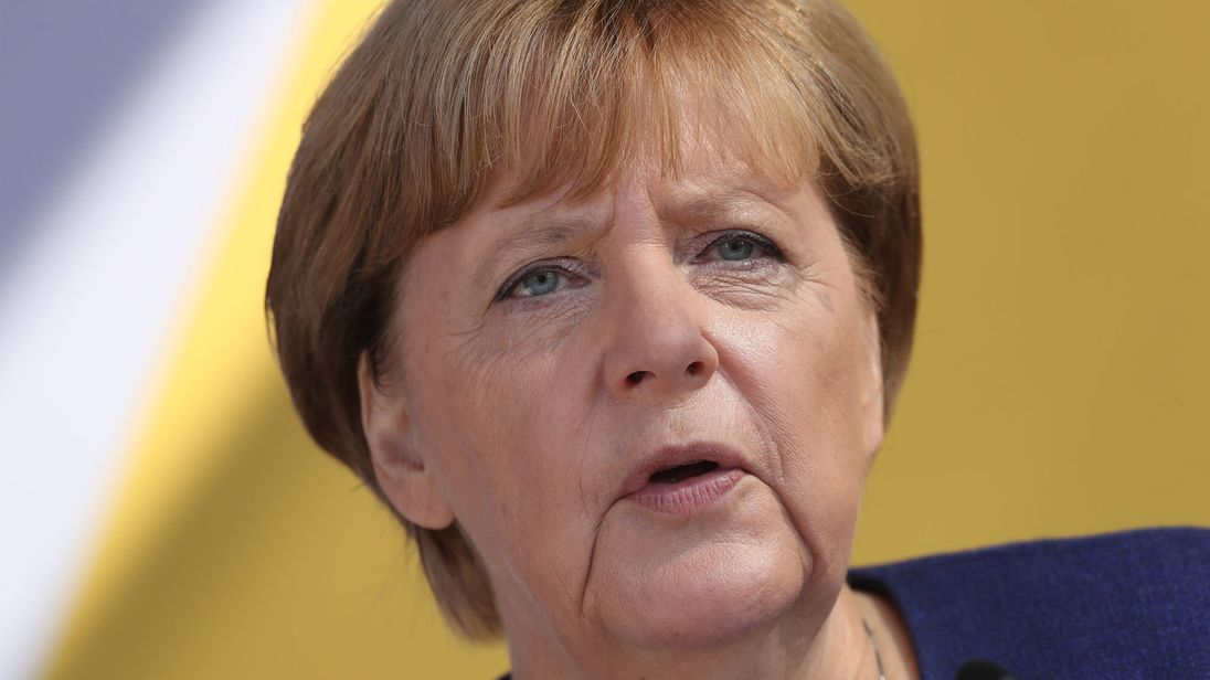 German Chancellor Angela Merkel was affected by the breach