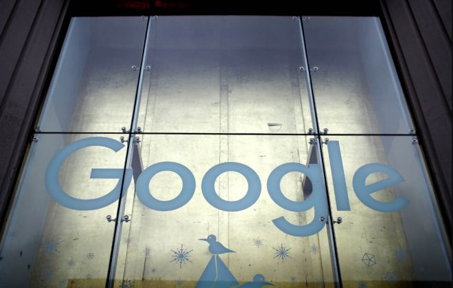 "In response to the fine, Google said it is ""studying the decision to determine our next steps."" (Mike Segar/Reuters)"